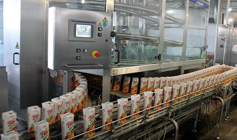 Линия по производству безалкогольных напитков и воды